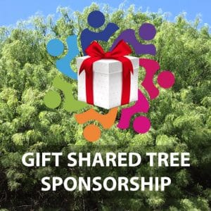 Gift shared tree sponsorship