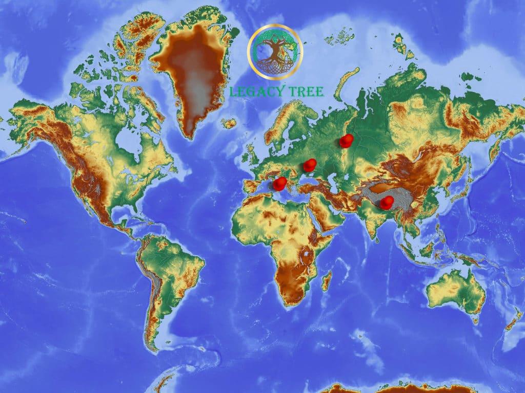 LT global planting sites