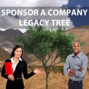 Sponsor a Company Legacy Tree 2020